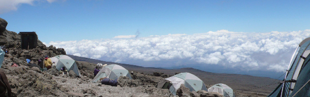 Ascent of Mt. Kilimanjaro via Machame Route
